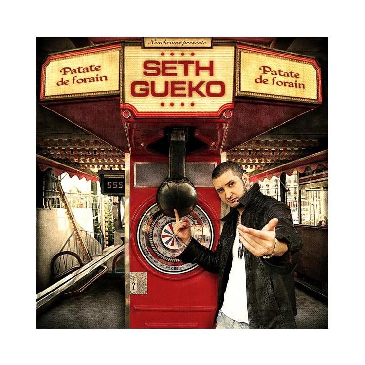 "Seth Gueko ""Patate de forain"" cd plexi"