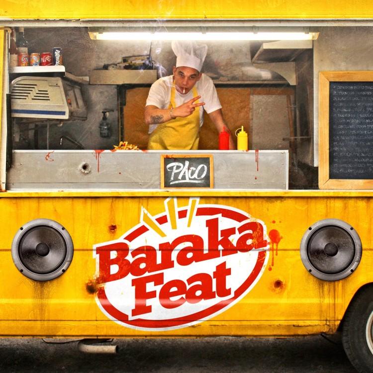 """Paco """"Baraka Feat"""" cd digipack"""