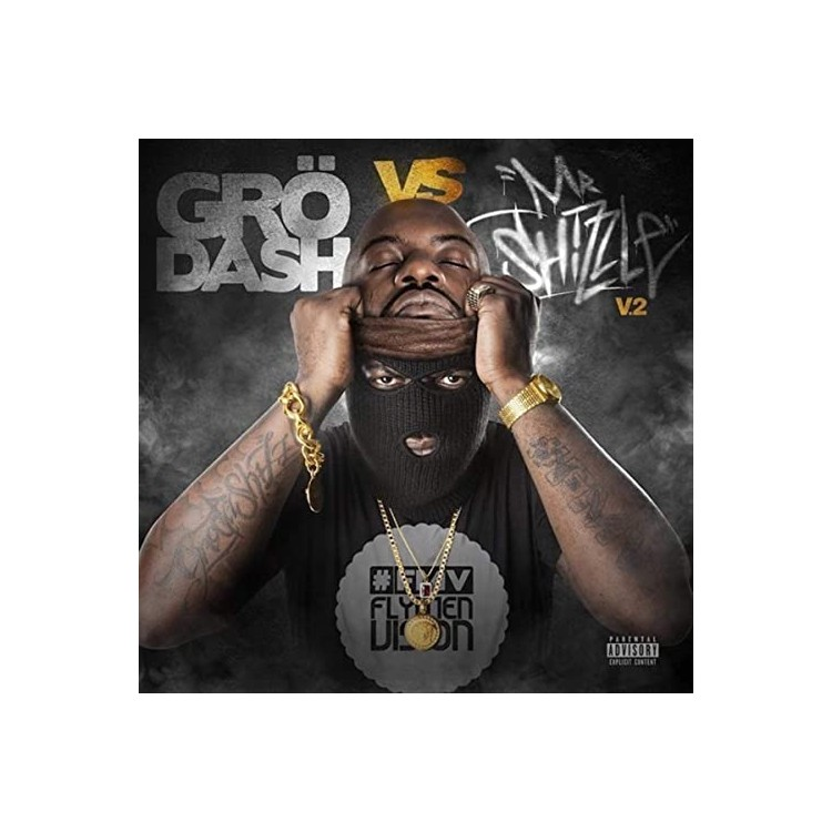 "Grodash ""Grodash vs Mr Shizzle"" cd digipack"
