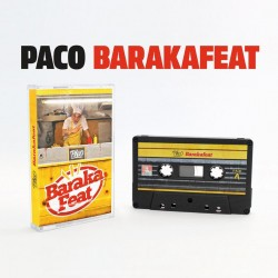 """Paco """"Baraka feat"""" Cassette Collector série limitée 100 exemplaires"""