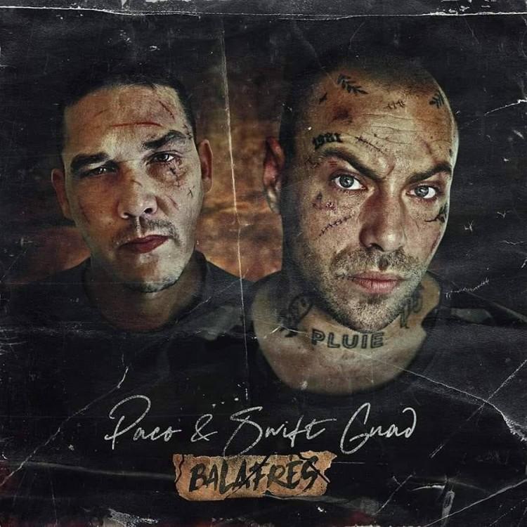 """Paco x Swift Guad """"Balafrés"""" Vinyle"""