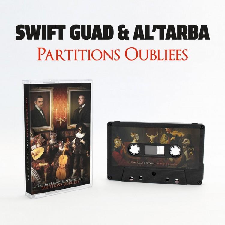 """Swift Guad x Al Tarba """"Partitions oubliées"""" Cassette collector série limitée 100 exemplaires"""