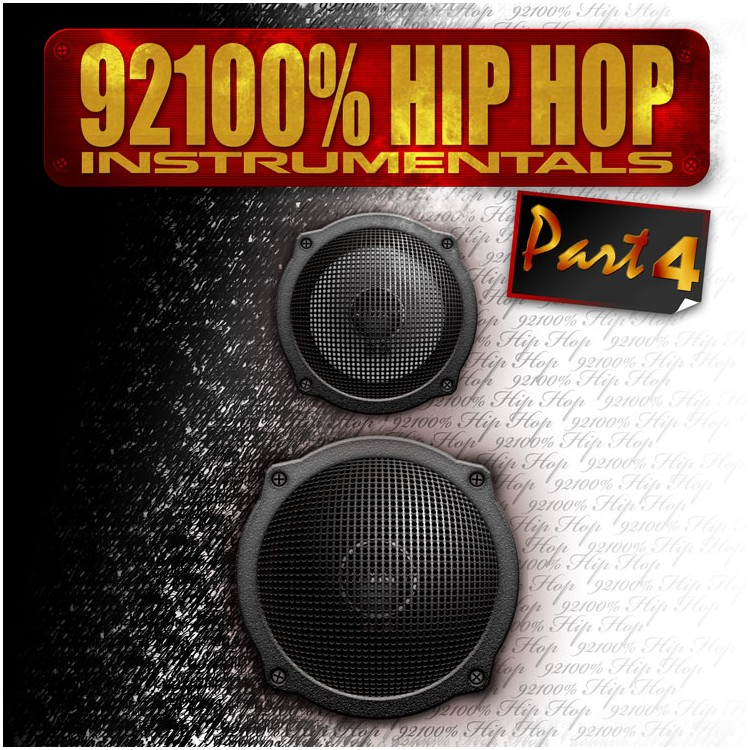 92100% Hip-Hop Vol 4 instru cd plexi