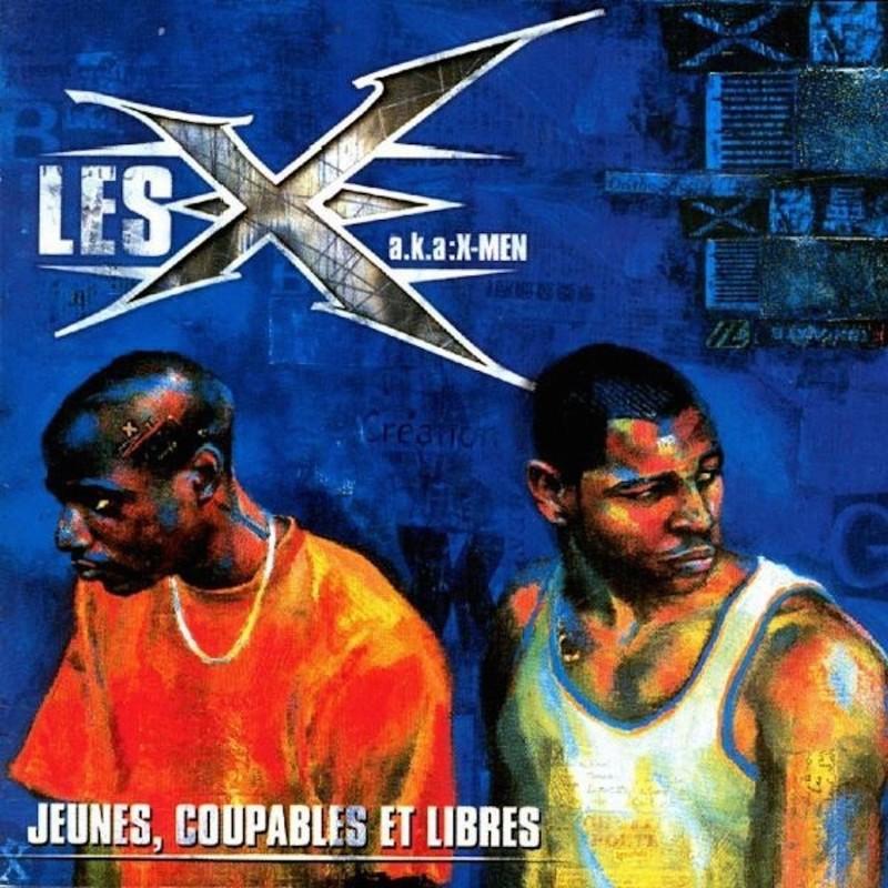 """X-MEN """"Jeunes, coupables et libres"""" CD plexi"""