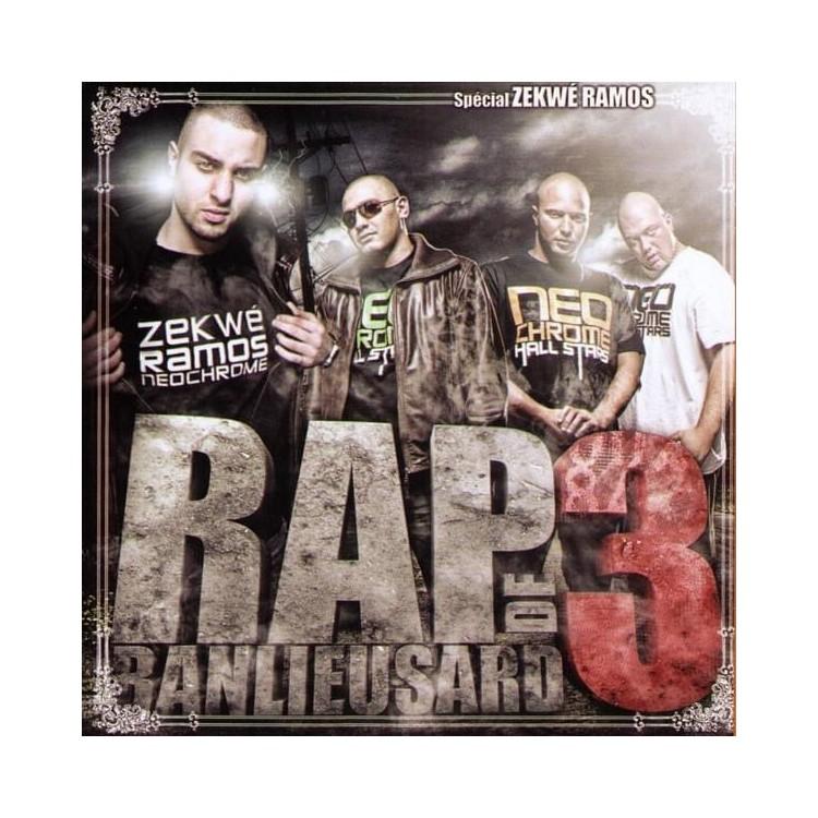"Neochrome ""Rap de banlieusards 3"" cd plexi"