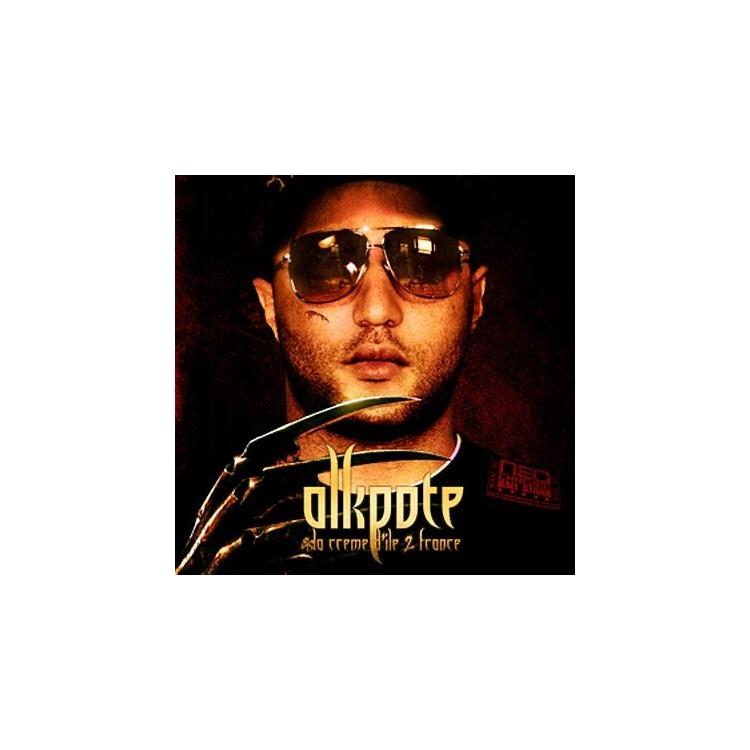 """Alkpote """"Crème d'ile de France"""" cd plexi"""