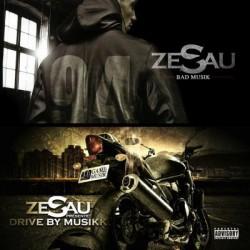 "Zesau ""Bad Musik"" ""Drive by music"" Double cd plexi"