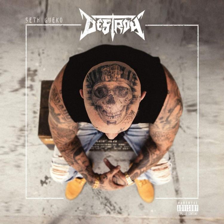 "Seth Gueko ""Destroy"" CD plexi"