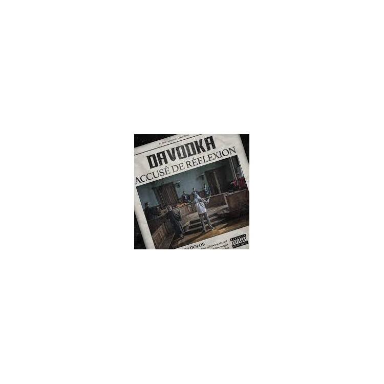 "Davodka ""Accusé de réflexion"" cd plexi"