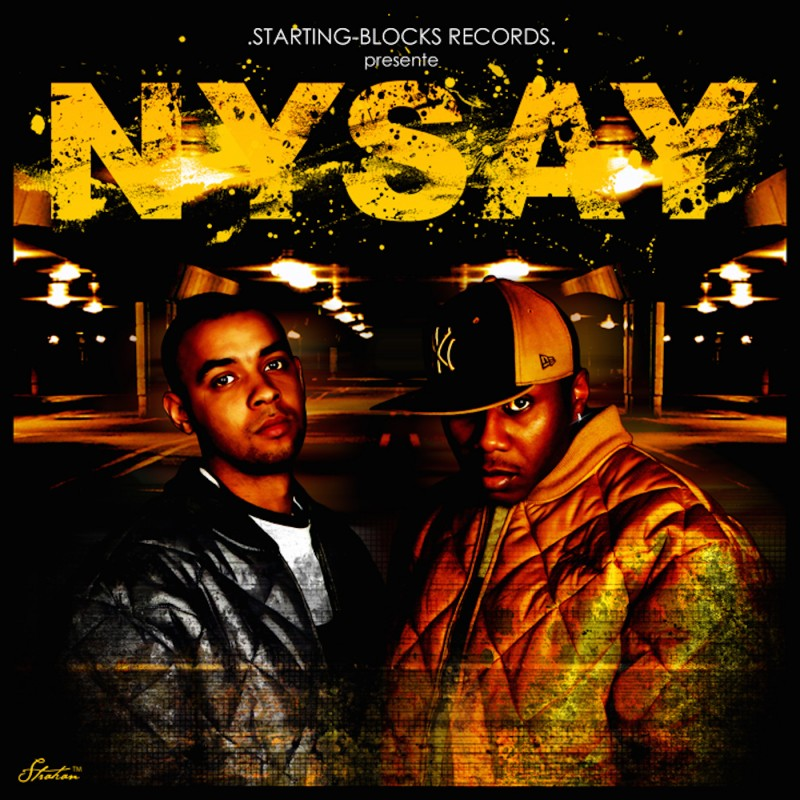 "Nysay ""L'Asphaltape"" CD plexi"