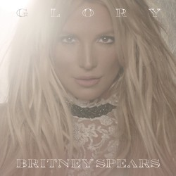"""Britney Spears """"Glory"""" CD plexi"""