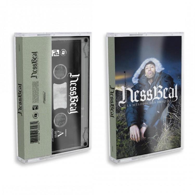 """Nessbeal """"La mélodie des briques"""" Cassette audio"""