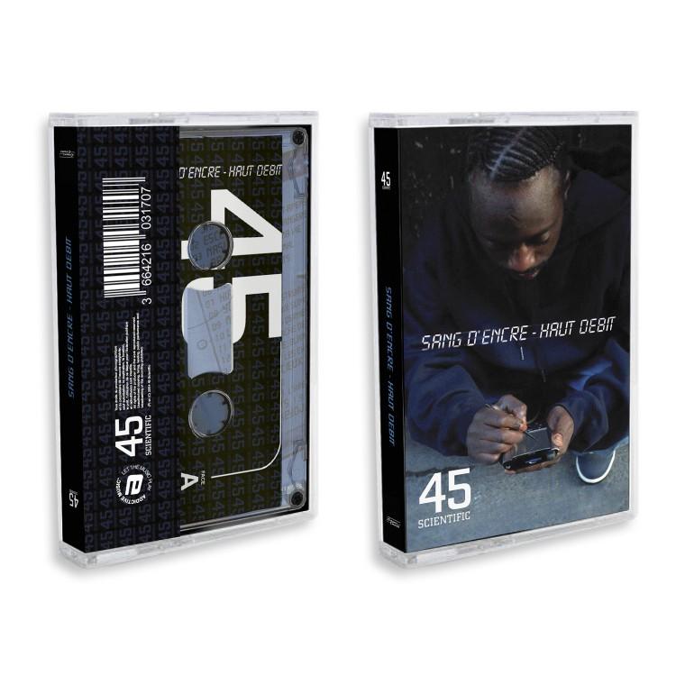 """45 Scientific """"Sang d'encre - Haut débit"""" Cassette audio"""