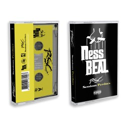 """Nessbeal """"RSC - Sessions perdues"""" Cassette audio  collector"""