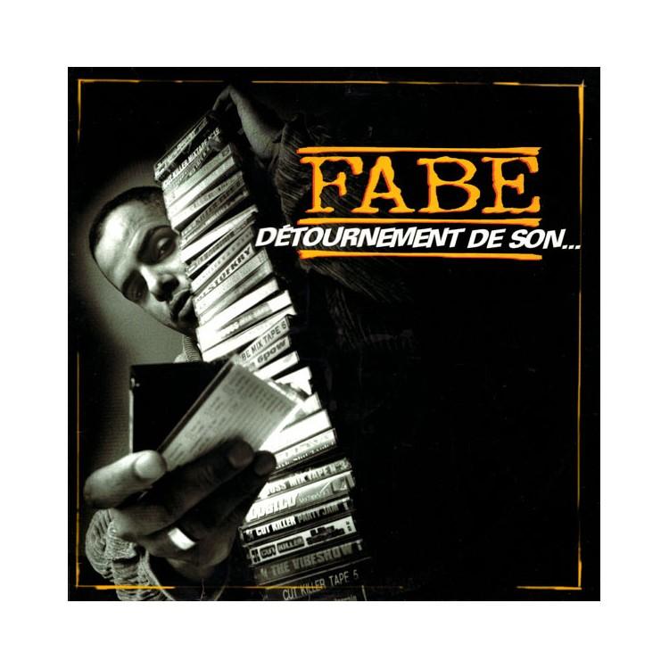 """Fabe """"Détournement de son..."""" CD plexi"""