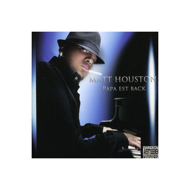 """Matt Houston """"Papa est back"""" CD digipack"""