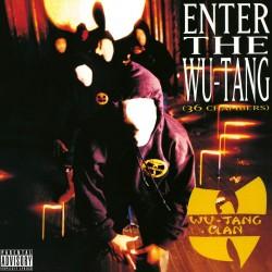 "Wu-Tang Clan ""Enter the Wu-Tang"" (36 Chambers) Vinyle"
