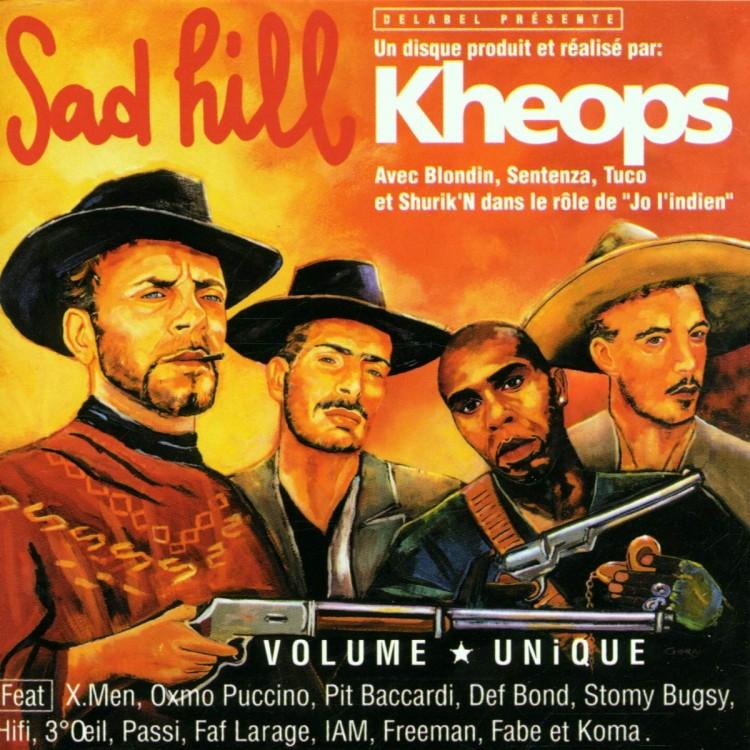"""DJ Kheops """"Sad Hill"""" CD plexi"""