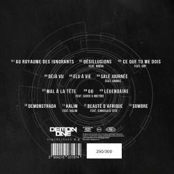 "Demon One ""Demonstrada 2.0"" CD digipack collector numéroté"