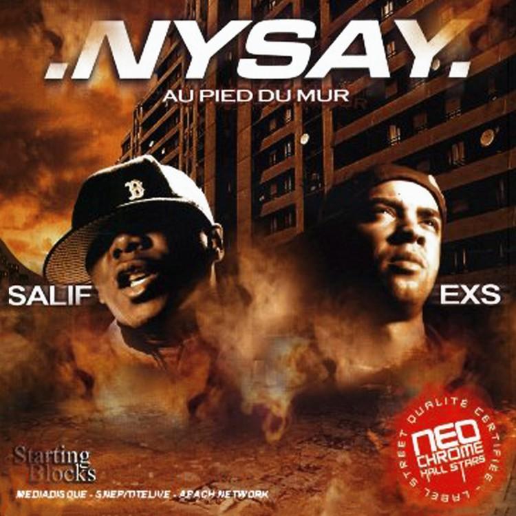 """Nysay """"Au Pied du mur"""" Double CD plexi"""