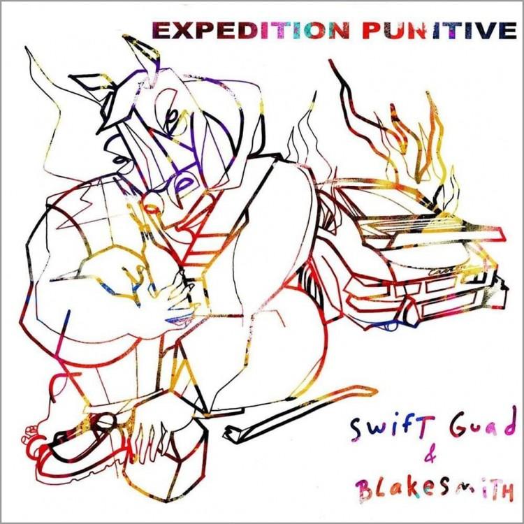 """Swift Guad x Blakesmith """" Expédition punitive """" CD plexi"""