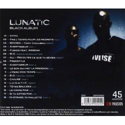 """Lunatic """"Black Album"""" CD plexi"""