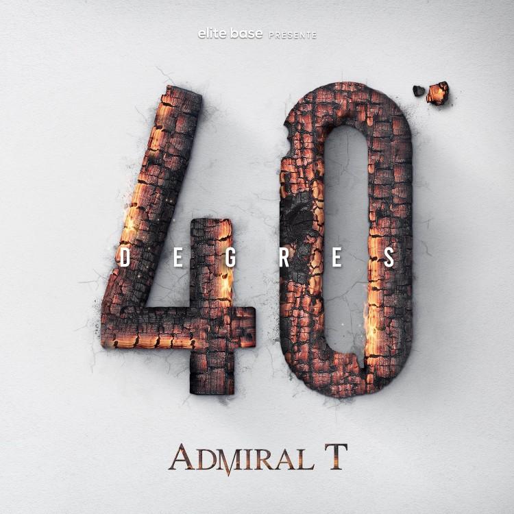 "Admiral T ""40 degrés"" Double Cd digipack"